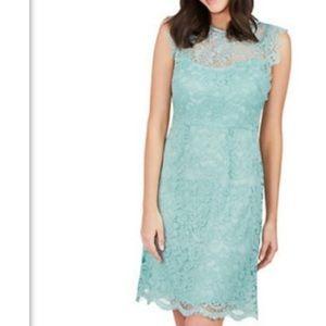 Sea foam Lace dress - Betsey Johnson